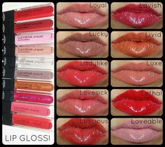 Lucrative Lip Gloss by Younique - Beautiful colors, great coverage, and a handy mirror on the tube! :) https://www.youniqueproducts.com/LisaPiwonka