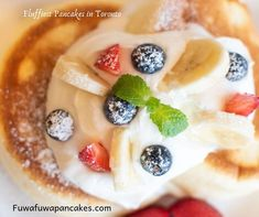 In the mood for some fluffy Japanese pancakes? Visit our Yonge and Eglinton location for souffle & Japanese pancakes handmade from delectable ingredients. Fluffiest Pancakes, Fluffy Pancakes, Toronto Cafe, Fuwa Fuwa, Japanese Pancake, Camembert Cheese, Friends, School, Food