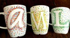 Tassen bemalen - 30 Ideen und Tipps zum Selbermachen