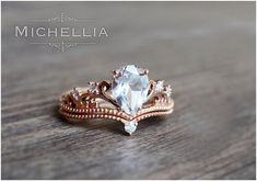 Luxury rose gold engagement ring vintage for your perfect wedding (41)