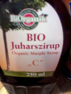 OK, this is just a spelling mistake, but still funny: Marple Syrup - Miss Marple's syrup, you mean? (found on the label of an organic maple syrup bottle)