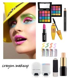 """Untitled #103"" by alynnrichardson on Polyvore featuring beauty, NYX, Topshop, Marc Jacobs, Lancôme and Estée Lauder"