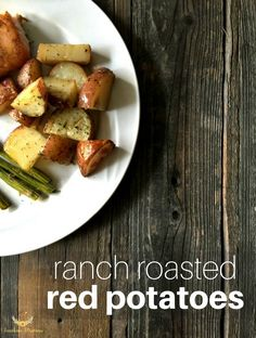 Ranch Roasted Red Potatoes Recipe Salad Dishes, Salads, Red Potato Recipes, Cheap Dinners, Easy Family Meals, Easy Dinner Recipes, Delicious Recipes, Grilling Recipes, Ranch