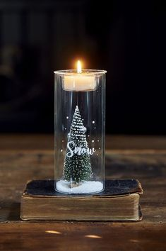 Let It Snow Fillable Votive S - Christmas Candles & Candle Holders - Christmas - Accessories - Collection Small Christmas Trees, Christmas Candles, Christmas Lights, Let It Snow, Let It Be, Christmas Accessories, Winter Snow, Tea Lights, Birthday Candles