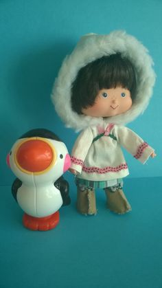 Eskimo Pie and Cream Puffin (Northern Canada) Vintage Strawberry Shortcake Dolls, Northern Canada, Living Dolls, Custom Dolls, Vintage 70s, Nostalgia, Childhood, Collections, Times