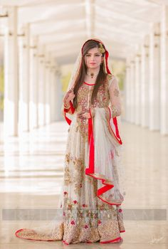 Wedding bridal maxi threads dabka sequance and nagh work 118 Asian Bridal Dresses, Asian Wedding Dress, Bridal Dresses Online, Indian Bridal Outfits, Pakistani Wedding Dresses, Bride Dresses, Desi Bride, Desi Wedding, Wedding Wear