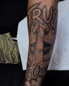 Forearm Tattoo Quotes, Forarm Tattoos, Finger Tattoos, Tattos, Hand Tattoos, Black Men Tattoos, Tattoos For Guys, Forearm Sleeve Tattoos, Ankle Tattoo