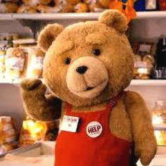 Ted...must have the DVD