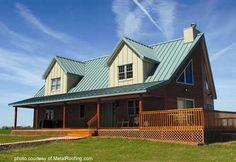 Best Drexel Metals Forest Green Metal Roof Residential Metal 640 x 480