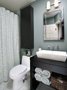 Bathroom Bathroom Paint Colors Design, Pictures, Remodel, Decor and Ideas - page 18. This is the exact layout of our bathroom, we just have a little more room for additional counter space.