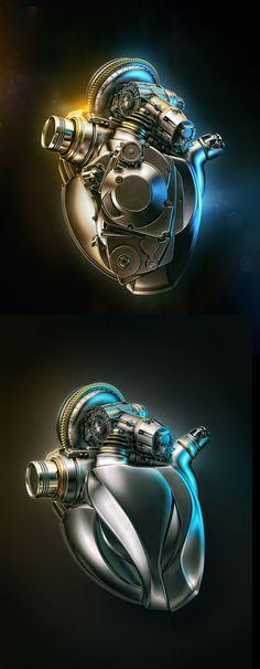 Heart Engine A by Aleksandr Kuskov