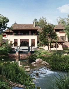 Chiang Mai villa by Four Seasons serviced by the award-winning five-star management team of Four Seasons Resort Chiang Mai. Vacation Resorts, Chiang Mai, Four Seasons, Villas, Management, Cabin, Club, Mansions, Star