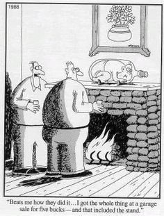 """The Far Side"" by Gary Larson. Cartoon Jokes, Funny Cartoons, Funny Comics, Cartoon Drawings, Cartoon Art, Far Side Cartoons, Far Side Comics, I Love To Laugh, Make Me Smile"