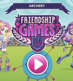 Play Free Online MLP Equestria Girls: Archery Friendship Games Game in freeplaygames.net! Let's click and play friv kids games, play free online MLP Equestria Girls: Archery Friendship Games game. Have fun! Mlp Games, Games For Kids, Games To Play, My Little Pony Games, Friendship Games, Online Fun, Equestria Girls, Archery, Free