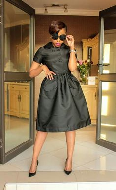 Little Dresses, Lovely Dresses, Stylish Dresses, Day Dresses, Dresses For Work, African Fashion Skirts, Women's Fashion Dresses, African Attire, African Dress