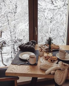 hygge in the winter