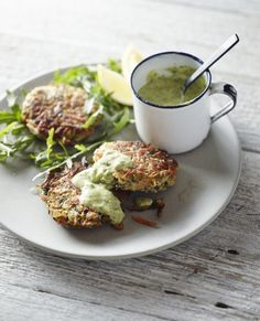 Zucchini and Fennel Fritters