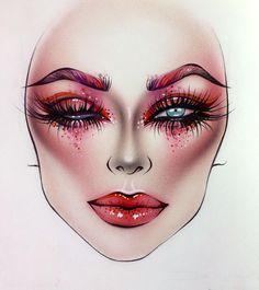 "6,345 Likes, 13 Comments - Sergey X (@milk1422) on Instagram: ""#artist@milk1412 ✨ #mylove #myart #myartistcommunity #myartistcommunityrussia #makeup #makeupart…"""