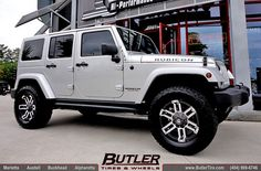Jeep Wrangler Unlimited with 18in Fuel Gauge Wheels and Leveling Kit | Flickr - Photo Sharing!