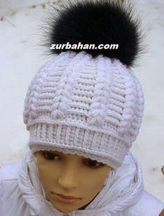 Zurbahan Blog: Casquette crochet hat free