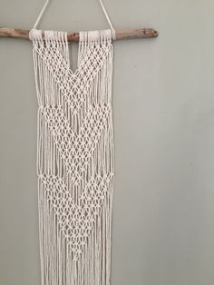 This is a Made to Order product!!  It is a lovingly handmade Macrame wall hanging. It will be made especially for you so please note that at busy times, orders can take 2-3 weeks to ship. If you have any queries about processing times, please just send us a message!!  This piece is perfect