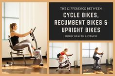 Cycling is a great option for low-impact cardiovascular activity. But when you're searching the gym floor for your ideal bike, which is your favorite - a cycle bike, recumbent bike, or upright bike? Discover which one is best for you in this article! #sunnyhealthfitness #cyclebikes #indoorbikes #recumbentbikes #uprightbikes