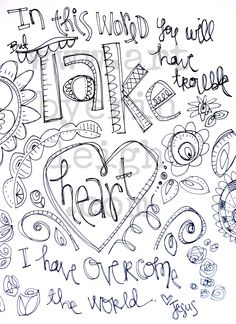 Doodle First - Art by Erin Leigh: 31 Days of Scripture Art Journaling