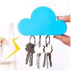 #Valentines #AdoreWe #Gamiss   #Gamiss Cloud Shape Magnetic Magnets Wall Key  Holder