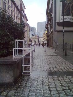 #wireframe #street-installation #milan
