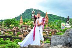 Тропический сад Нонг-Нуч #wedding #travel