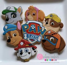 Throw an exceptional get-together for your children's birthday party with these 7 fascinating paw patrol party ideas. The thoughts must be convenient to those who become the true fans of Paw Patrol show. Torta Paw Patrol, Paw Patrol Cupcakes, Paw Patrol Birthday Cake, 3rd Birthday Parties, 4th Birthday, Birthday Ideas, Birthday Nails, Cumple Paw Patrol, Cookies For Kids