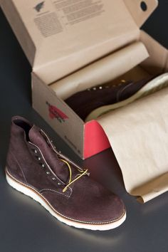 Red Wing Heritage #8164 Java Muleskinner Roughout Round-Toe Boot Sz. 10 D Japan #RedWing #AnkleBoots