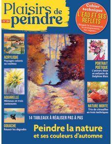 Plaisirs de Peindre 84 - La nature et ses couleurs d'automne Nature, Fine Art Paintings, Colors, Naturaleza, Nature Illustration, Off Grid, Natural