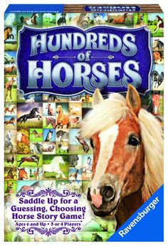 Let your imagination run wild with this unique game for all horse lovers! See how well you know the other players' horse sense and win out with yours! Mix and match 100 horses in the stables with crea