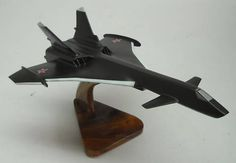 MIG 31 Firefox Mikoyan Fighter Airplane Wood Model Big | eBay