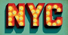 Typeworks #30 Chegamos à trigésima edição do Typeworks, e hoje vamos mostrar o trabalho fantástico de Jeff Rogers. Ele trabalha como designer, diretor de arte e ilustrador em uma agência em Nova York e tem um incrível talento para fazer imagens tipográficas de diversos estilos. Por Arthur