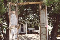 If you want to stick with the idea of the parable, you should definitely consider where to get a set of doors to maybe have at either the front for the ceremony or the entrance to either the reception or ceremony. If we could find them for cheap that would be awesome
