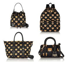 e49c780481ad Moschino Leather-Trimmed Printed Quilted Shell Bags  The Right to Bear Arms