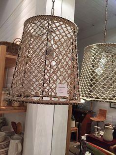 crochet lamp shade – Knitting And Crochet Lampe Crochet, Crochet Lampshade, Rope Lamp, Recycled Art Projects, Crochet Decoration, Macrame Plant Hangers, Crochet Home, Creative Decor, Diy Bedroom Decor