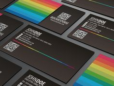 30 Colorful Business Card Design Examples for your inspiration | Read full article: http://webneel.com/30-colorful-business-card-design-examples-your-inspiration | more http://webneel.com/business-cards | Follow us www.pinterest.com/webneel