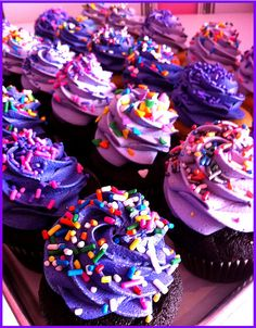 Purple Day Cupcakes for Epilepsy Awareness!     www.purpleday.org