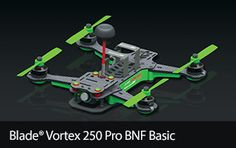 Blade Vortex 250 Pro BNF Basic Quad Racing Drone
