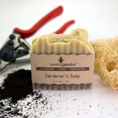 Gardeners Scrub Handcrafted Soap All Natural Soap by SeedGeeks