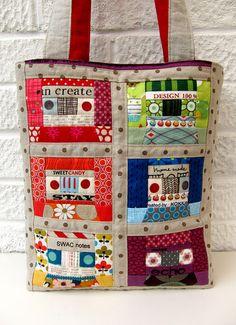 Mix tape bag by Very Berry Handmade, via Flickr