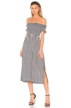 Bardot Cindy Dress in Black Gingham  7c7f4cff32b8