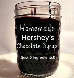 http://www.babysavers.com/how-to-make-homemade-hersheys-chocolate-syrup-from-scratch/