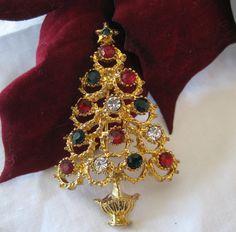 Vintage Christopher Radko Christmas Tree by VintagObsessions, $19.00