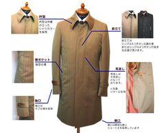 スタイルオーダーコート・スプリングコート|TSUSAKA TAILOR|Style Order Coat|オーダースーツ東京