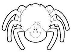Resultado de imagem para halloween aranhas colorir