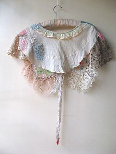 RESERVED Part Payment 1920's Style Capelet by AllThingsPretty